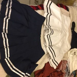 Tennis Skirts both pairs for 40.00